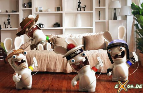raving rabbids 2. Rayman Raving Rabbids TV Party