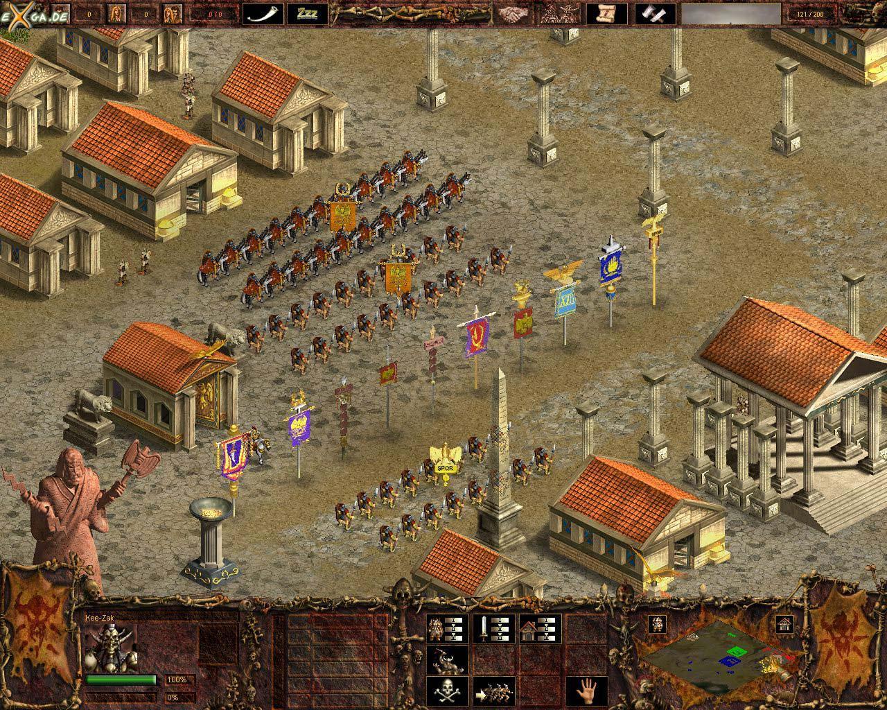 justusmatrix Screenshot/ Wallpaper zu Against Rome - eXga.de