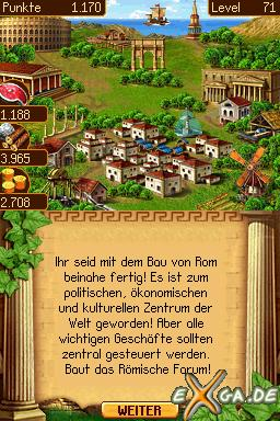 Cradle of Rome - NDS_Screenshot4