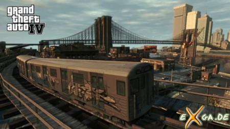 Grand Theft Auto 4 - GTA IV - Bahn