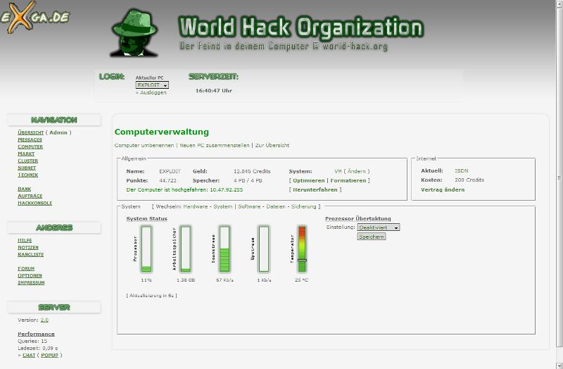 World Hack Organization - 1