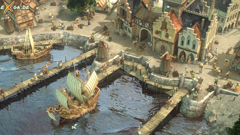 Dawn of Discovery - Hafen