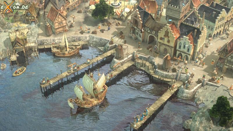 Dawn of Discovery - Hafen_2