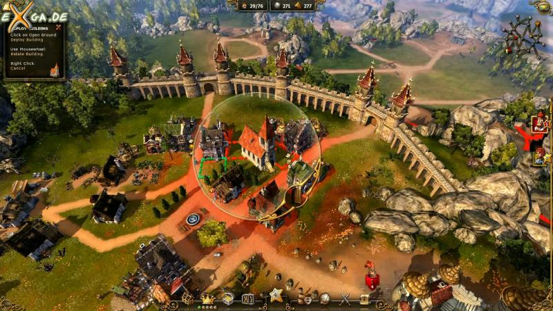 The Settlers 7: Paths to a Kingdom - auswahl