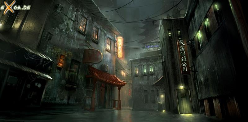 The Secret World - artwork japan city