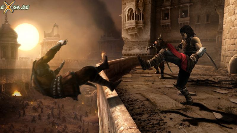 Prince of Persia: Die Vergessene Zeit - kickdown