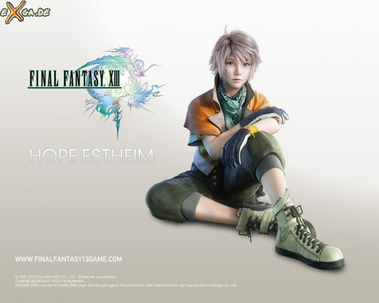 Final Fantasy XIII - FF13 Hope Estheim