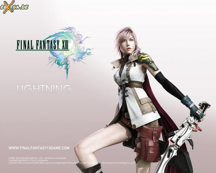 Final Fantasy XIII - FF13 Lightning