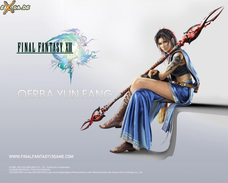 Final Fantasy XIII - FF13 Oerba Yun Fang