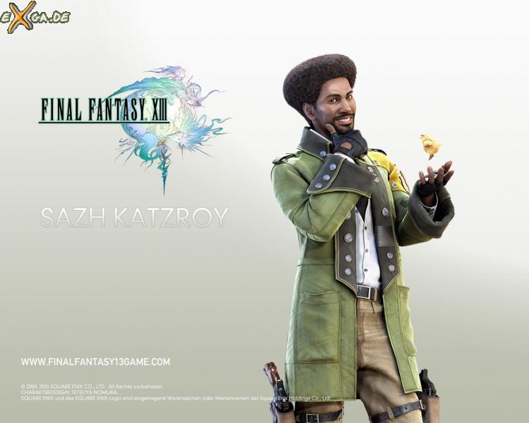 Final Fantasy XIII - FF13 Sazh Katzroy