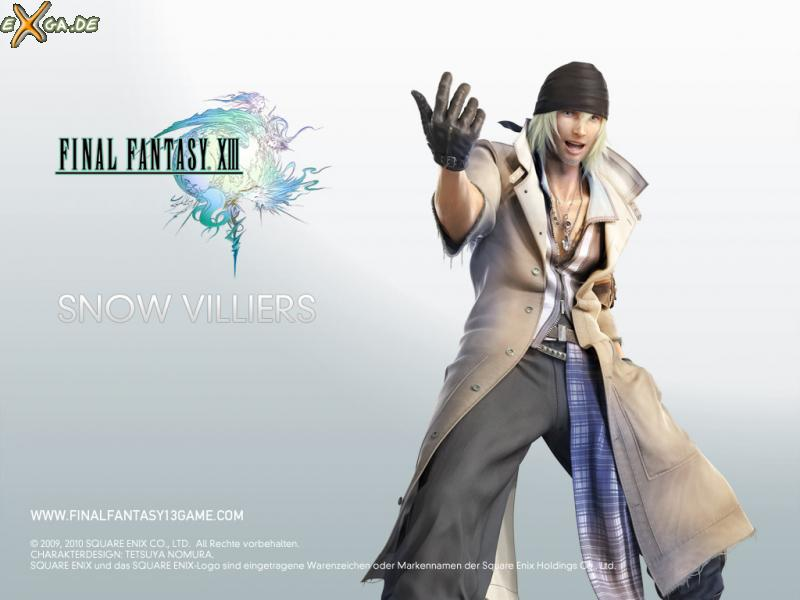 Final Fantasy XIII - FF13 Snow Villiers