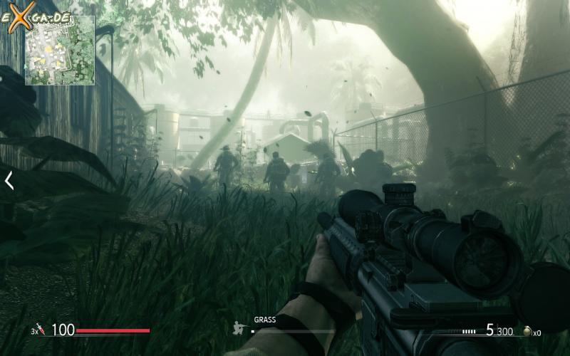 Sniper: Ghost Warrior - dodge in grass