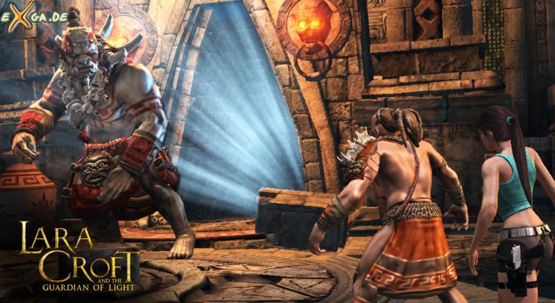 Lara Croft and the Guardian of Light - Brute Smash