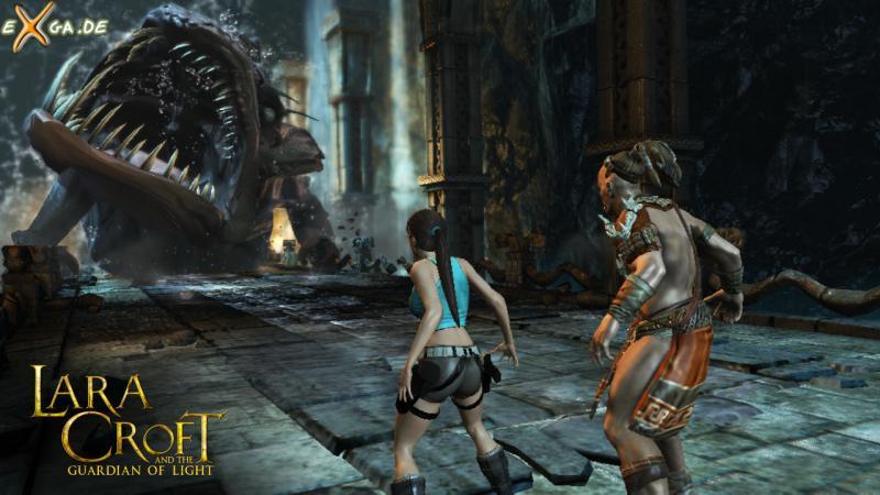 Lara Croft and the Guardian of Light - Chompy