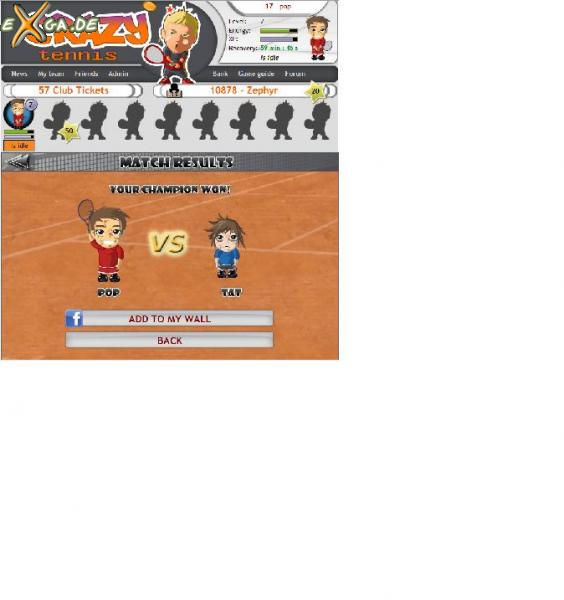 CrazyTennis - facebook3