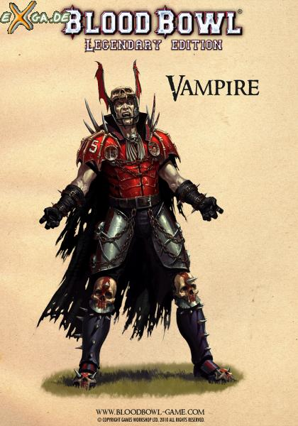 Blood Bowl: Legendary Edition - BB Legendary Vampire poster