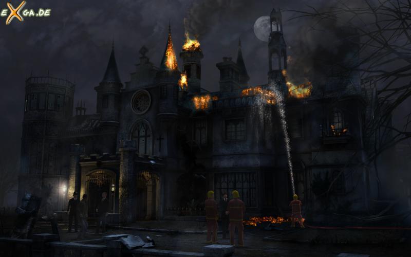 Black Mirror 3 - brennende kirche