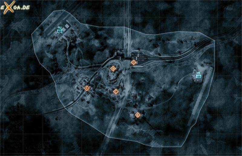 Battlefield 3 - Karte