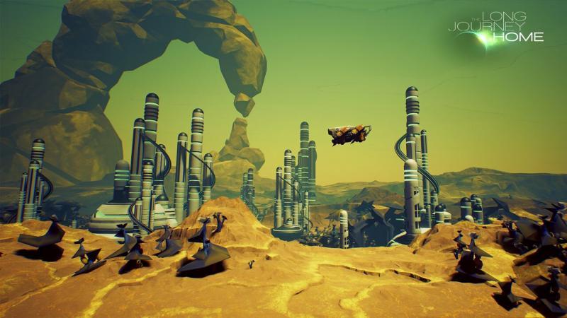 The Long Journey Home - Planet Landschaft