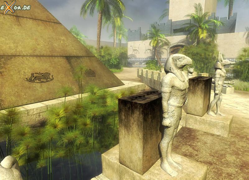 Cleopatra: Schicksal einer Königin - Cleopatra - Statue vor Palast