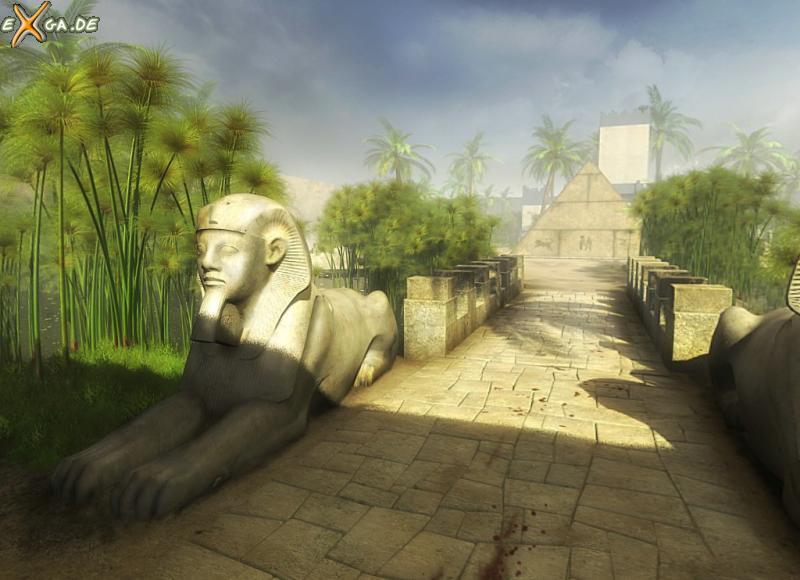 Cleopatra: Schicksal einer Königin - Cleopatra - Tempelgarten