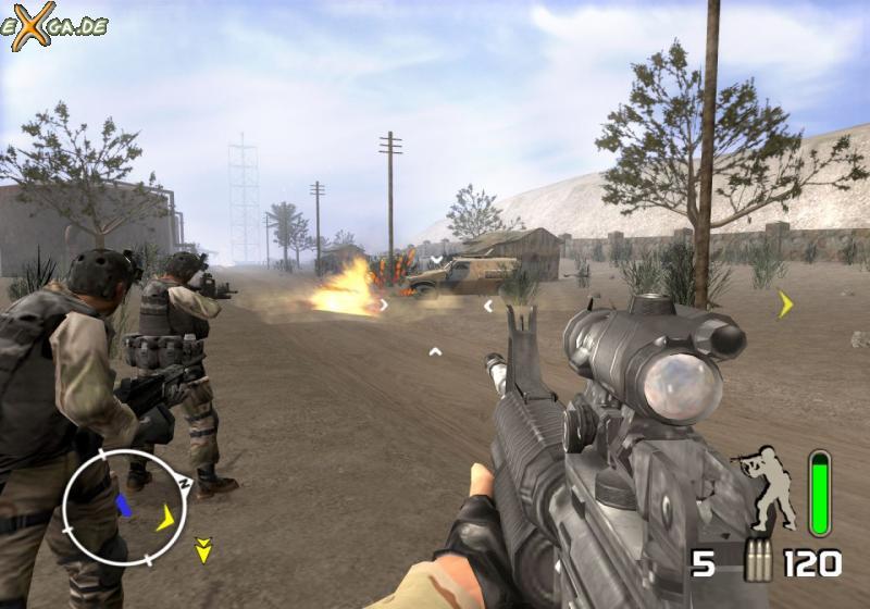 Delta Force: Black Hawk Down - justusmatrix