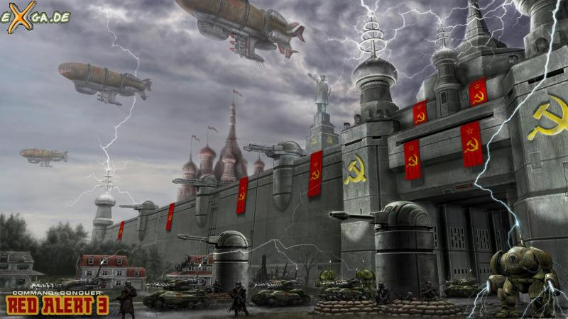 Command & Conquer: Red Alert 3 - SovietBase