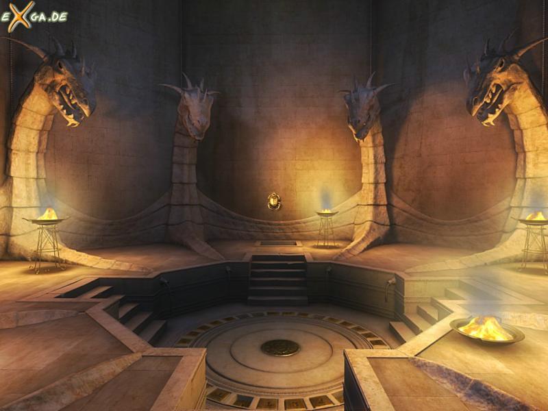 Cleopatra: Schicksal einer Königin - Cleopatra-Drachenhalle