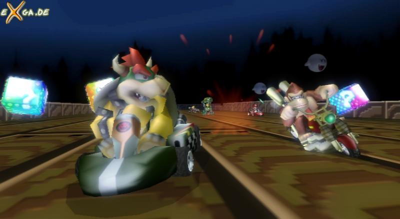 Mario Kart Wii - bowser und kong