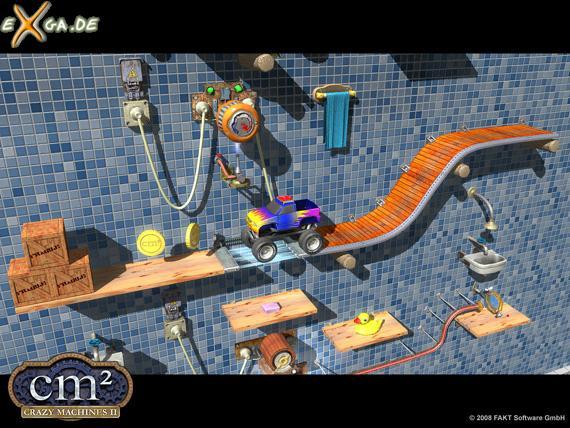 Crazy Machines 2 - cm2 Zurück in die Werkstatt  2