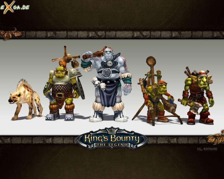 King's Bounty: The Legend - KingsBounty Wallpaper Orks
