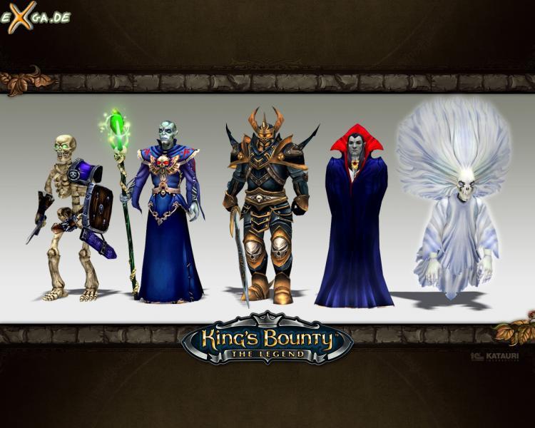 King's Bounty: The Legend - KingsBounty Wallpaper Untote