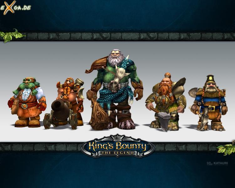 King's Bounty: The Legend - KingsBounty Wallpaper Zwerge
