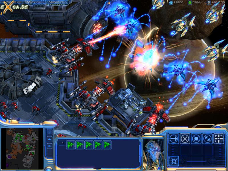 StarCraft II: Wings of Liberty - Battlecruisers_fire_cannons