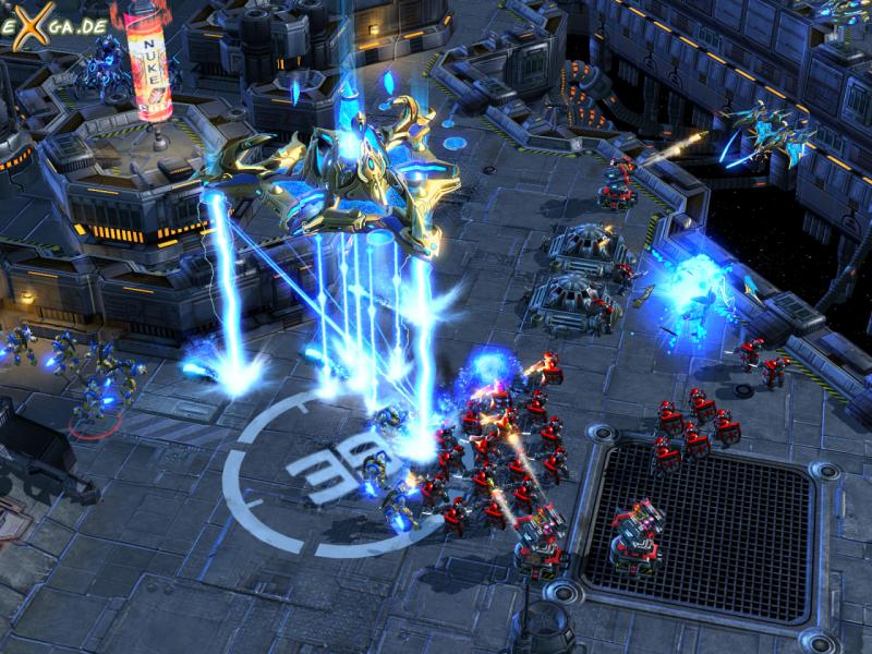 StarCraft II: Wings of Liberty - Mothership_unleashes_its_Planetcracker_ability