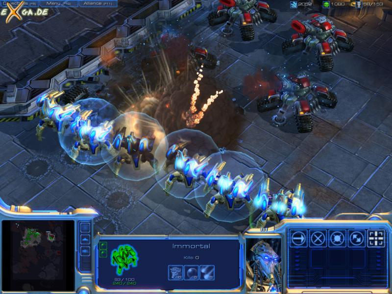 StarCraft II: Wings of Liberty - Protoss_Immortals_shields