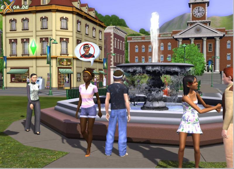 The Sims 3 - DieSims3_Brunnen