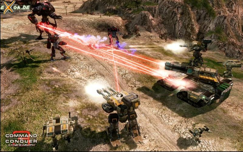 Command & Conquer 3: Kanes Wrath - Epic Unit Battle_Screenshot