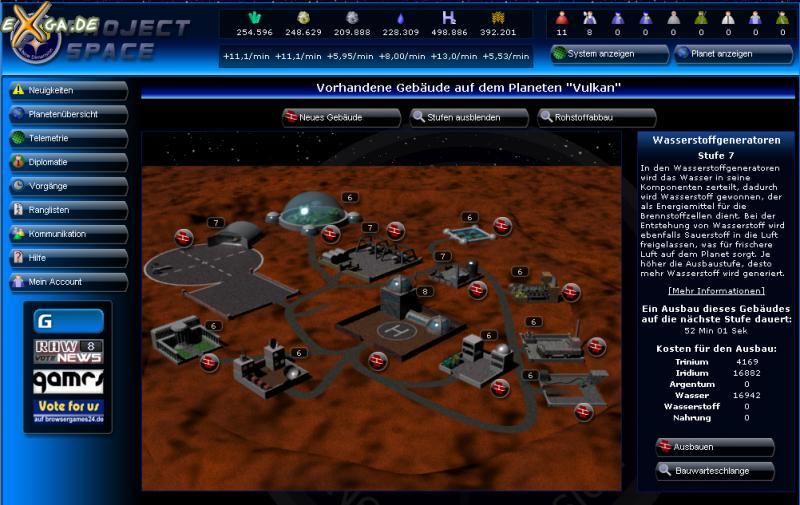 Project Space - planetenansicht_klasse06