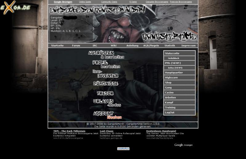 Gangstertime - screen2