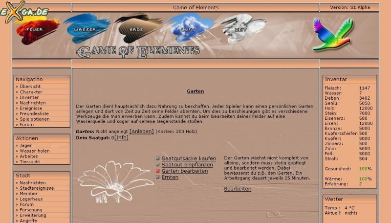 Game of Elements - screen3