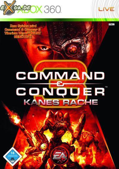 Command & Conquer 3: Kanes Wrath - Packshot_C_C3KanesRache