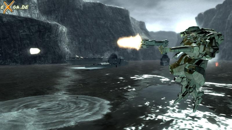 Armored Core For Answer - cust1 - light mech - action