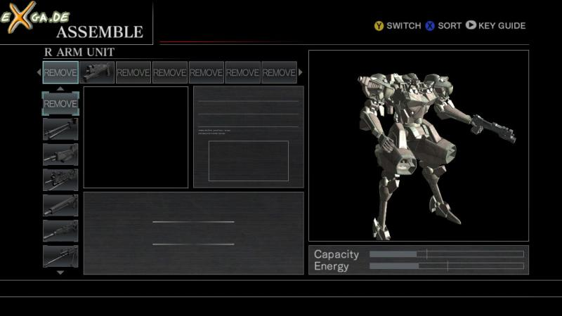 Armored Core For Answer - cust2 - interface