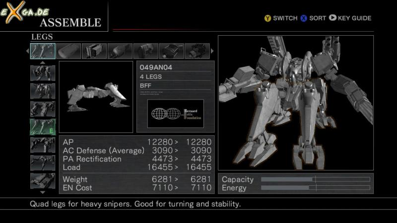 Armored Core For Answer - cust3-transform