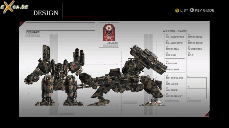Armored Core For Answer - cust6 - heavy mech - save ur design