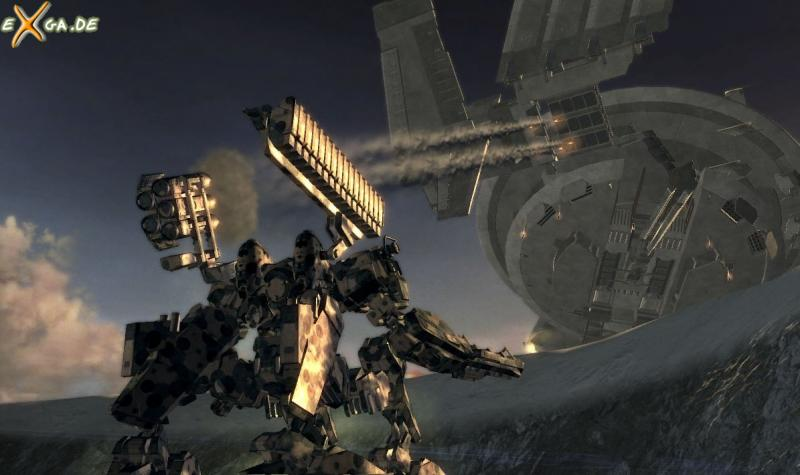 Armored Core For Answer - cust6 - heavy mech action