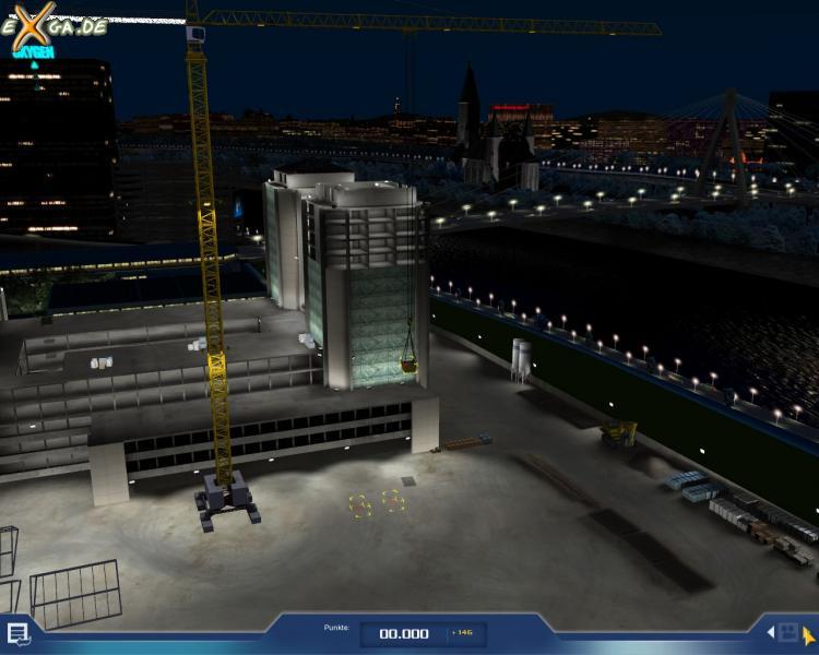 Crane Simulator 2009 - Kran-Simulator 2009 Screenshot 14